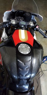 Custom Motorcycle vinyls